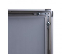 20 mm Klapprahmen typ SLIM / scharfe Ecken Klapprahmen und Kundenstopper