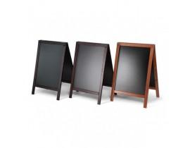 Gehwegtafel Holz A-stand typ ECONOMY Klapprahmen und Kundenstopper